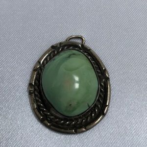 Jewelry - Old Pawn Navajo turquoise Pendant